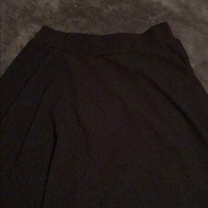 Amelia James Skirts - L Amelia James A-line black skirt